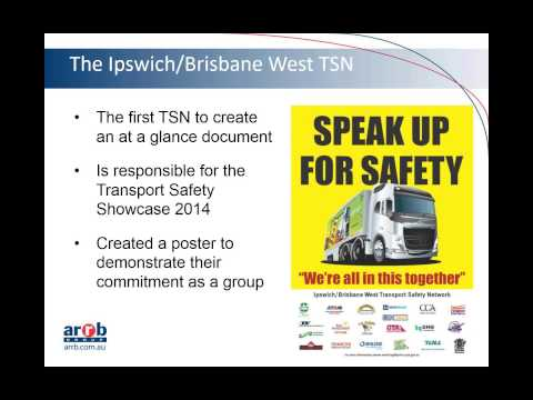 Road transport case study: Transport Safety Networks