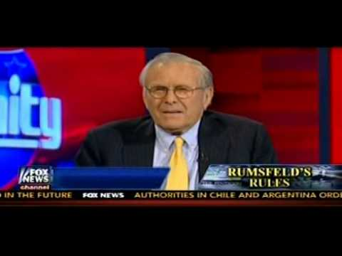 Hannity Show Suggests Rumsfeld Should Be A Role Model For Obama