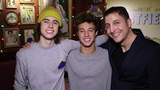 Nash Grier and Cameron Dallas Behind The Velvet Rope with Arthur Kade