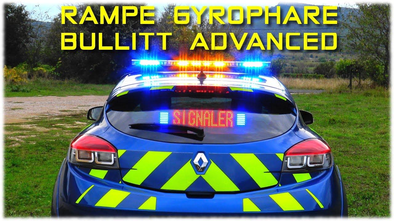 Rampe gyrophare bullitt advanced 105 cm double couleur - Rampe lumineuse led cuisine ...