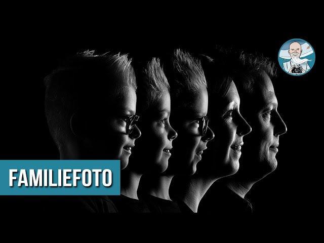 Familieportret Fotograferen & Bewerken in Lightroom en Photoshop!
