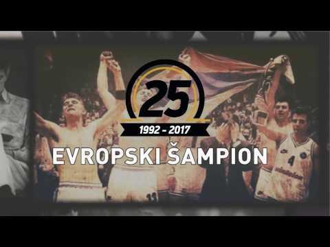 KK Partizan ŠAMPION EVROPE 1992 - 2017