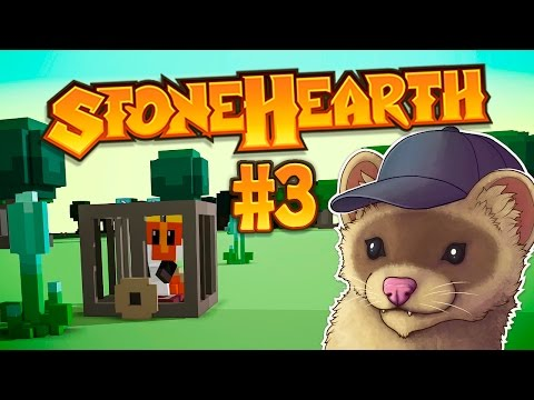 Stonehearth Ep. 3 - SOFT, SUPPLE, & QUITE DEAD! ★ Stonehearth Gameplay