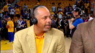 Dell Curry Interview - GameTime | Stephen and Seth | 2015 NBA Season