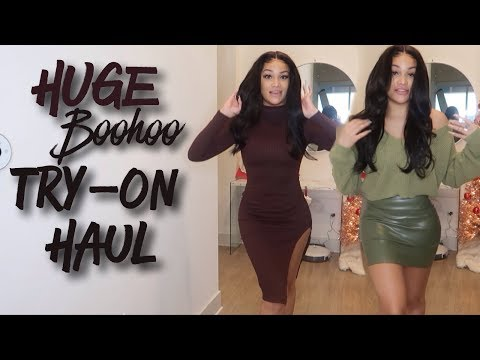 HUGE BOOHOO BLACK FRIDAY HOLIDAY HAUL | WINTER/FALL TRY ON HAUL | ALLYIAHSFACE. http://bit.ly/2GPkyb3