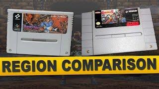 Super Castlevania IV for Super Nintendo (Region Comparison)