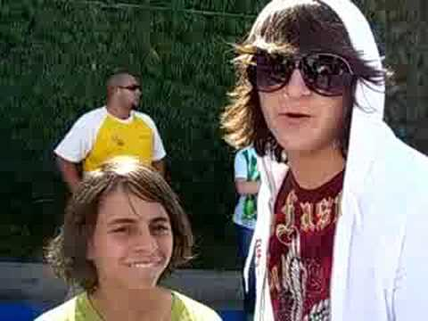 Mitchel Musso and Moises Arias