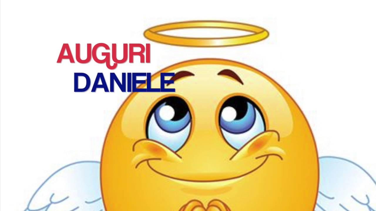 Conosciuto Auguri Buon Onomastico Daniele - YouTube UE15