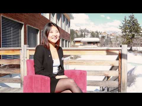 Alina from kazakhstan - Les Roches Bachelor Program in Finance