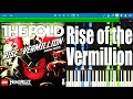LEGO NINJAGO - Rise of the Vermillion by The Fold | Synthesia Piano Tutorial