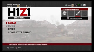 H1Z1  is Loading Update!!!PS4