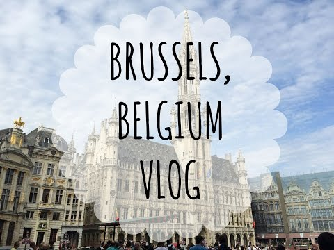 Wander the World / Brussels, Belgium Vlog (Grand Place, Mini Europe & More!)