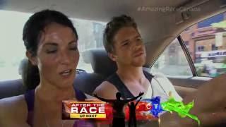 Big Brother Canada BBCAN 1: Jillian & Emmett on the Amazing Race Funny Fight Meltdown Fail