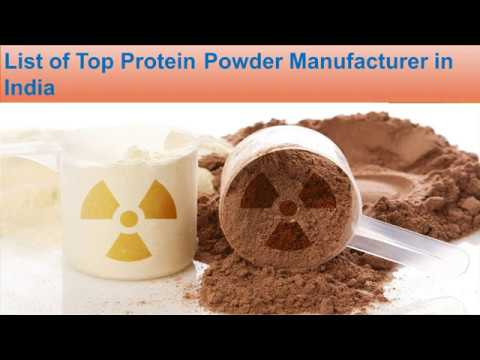 List of Protein Powder Manufacturer in India | Protein Supplements firms