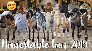 Ik heb 28 PAARDEN GEKOCHT! - Homestable Tour 2019 | Star Stable Online | Daphneee