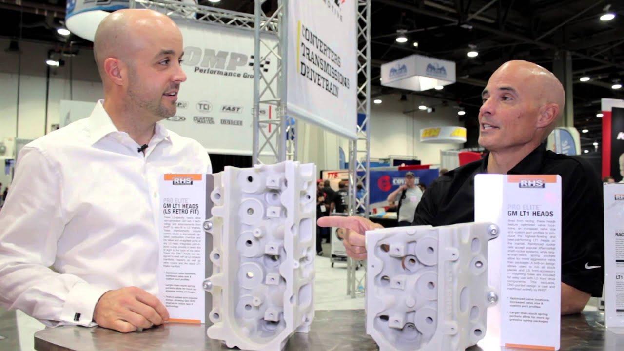 2014 SEMA Show | RHS Pro Elite LT1 CNC Cylinder Heads