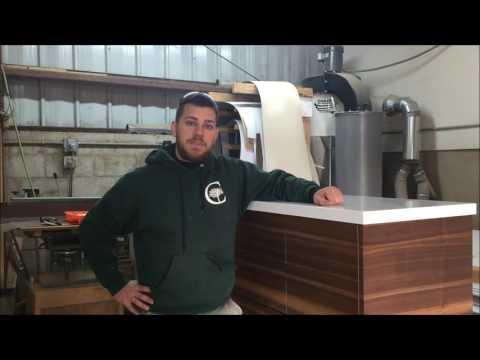 CCNJ Presents: Walnut Veneer Dresser Cabinet