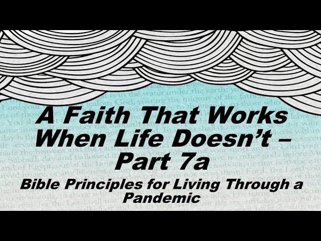A Faith That Leads to Emotional Health