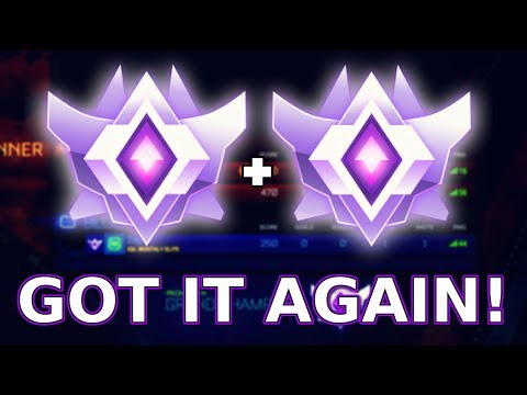 GETTING MY SECOND GRAND CHAMPION RANK (Rocket League 3v3)