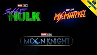 MOON KNIGHT, SHE-HULK, and MS.MARVEL Disney+ Shows Announced! Finally in the MCU!