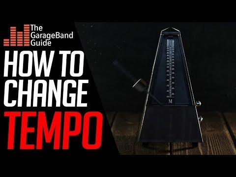 Garageband Tempo Tutorial