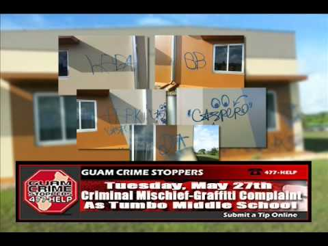 "Crime of the Week w/ Ofcr. Paul Tapao ""The May 27 Vandalism at Astumbo Elementary School"""