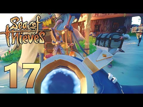 [17] Drunken Ambush At The Outpost!!! (Sea Of Thieves Gameplay PC)