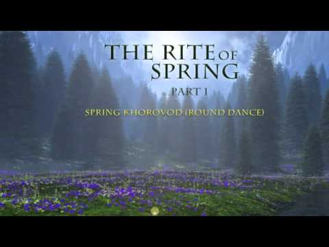 why stravinskys rite of spring is revolutionary I chose to empirically and impressionistically analyze igor stravinsky's rite of  spring, a piece that was revolutionary both in its own time as well.