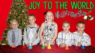 joy to the world kids family handbell choir