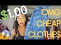 CHEAP TRENDY CLOTHING SHOPPING HAUL