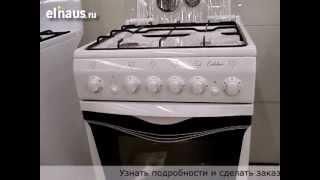 плита газовая Deluxe 5040-33 видео обзор