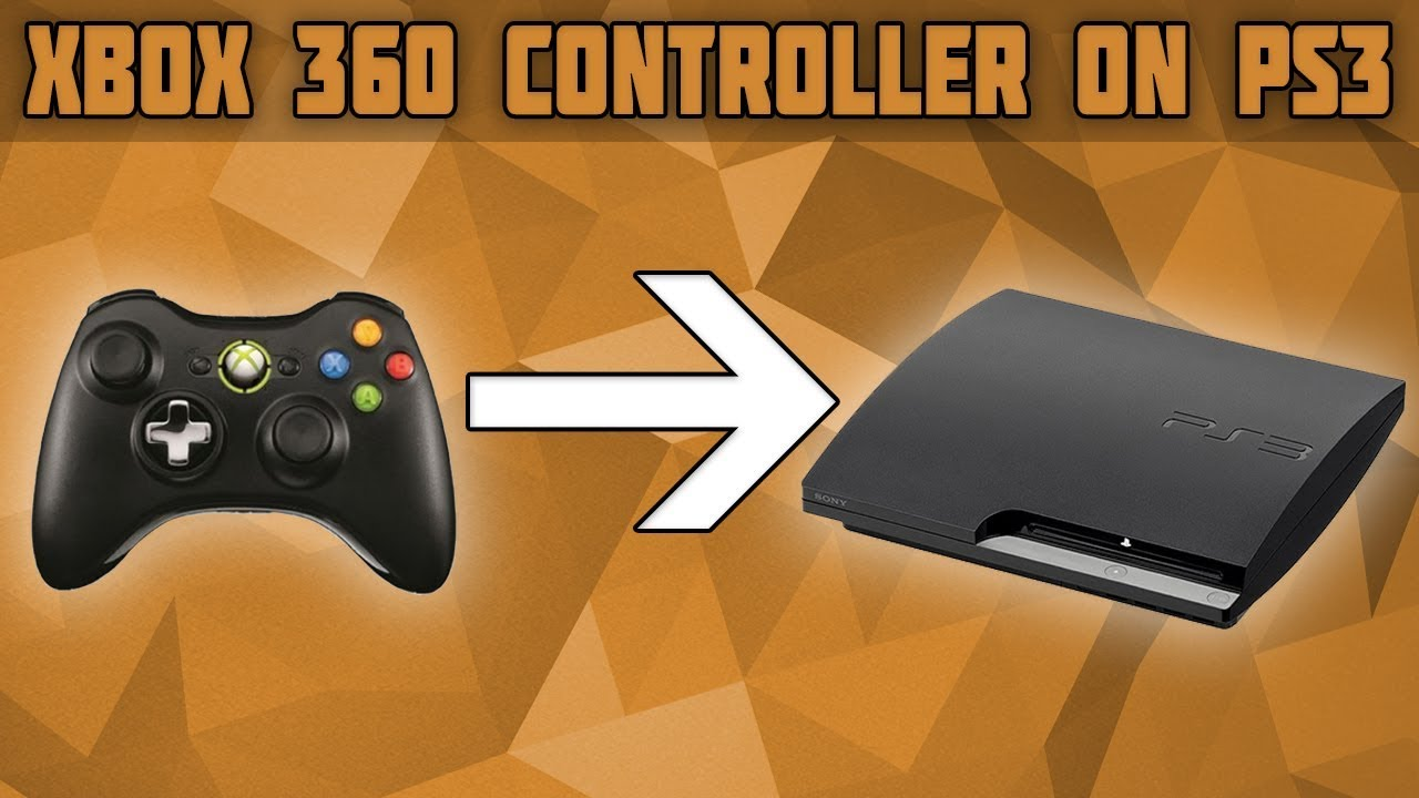 How To Use An Xbox 360 Controller On Ps3 Connect And Xbox