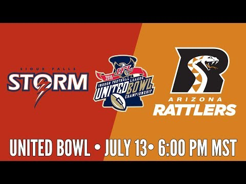 2019 United Bowl | Sioux Falls Storm at Arizona Rattlers (Rattlers Audio)