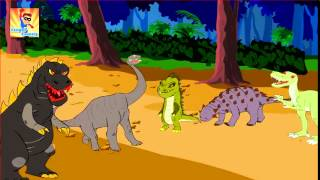 Finger Family Dinosaur Finger Family   Finger Family Songs   Finger Family Godzilla Parody