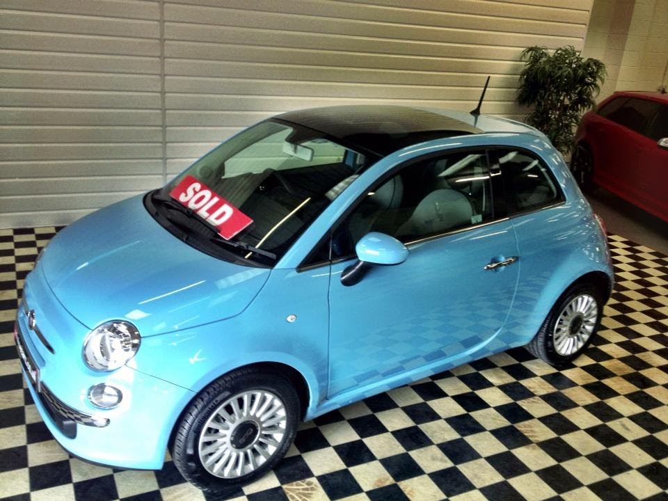 Eccezionale 2013 (13) Fiat 500 1.2 Lounge 3dr (Sorry Now Sold) - YouTube JW73
