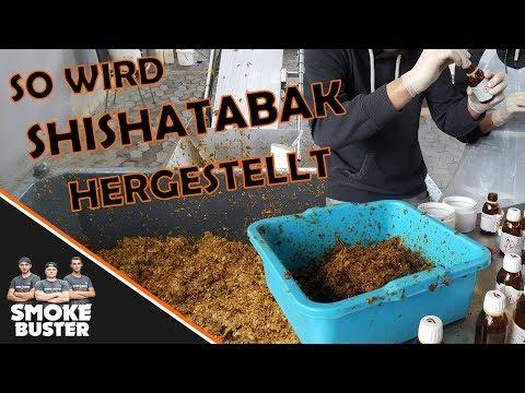 WIE WIRD SHISHA TABAK HERGESTELLT ?!