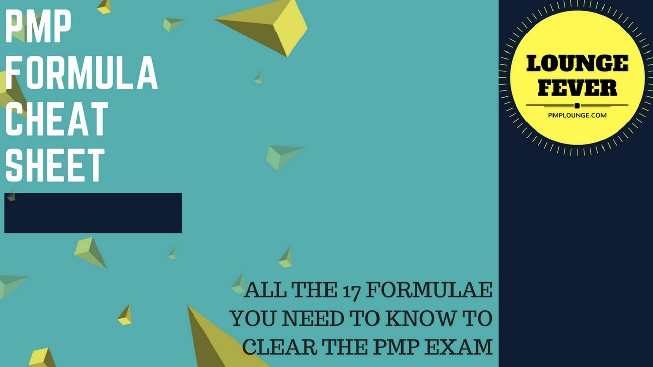 Basic pmp formula project management pinterest.