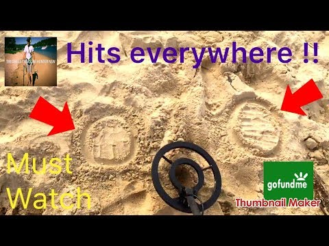 #017 Beach Detecting the Money Pot with the Bounty Hunter TX4 at Ocean Beach NSW 🇦🇺