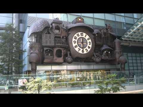 Часы на Nippon TV Tower