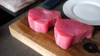 Какие продукты нужно сократить в рационе. Приготовление тунца на соляной плите из гималайской соли