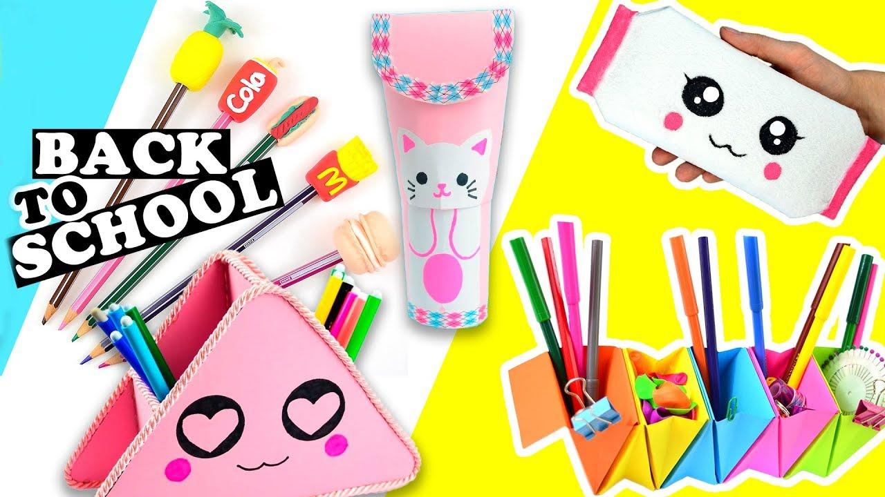 5 oggetti per la scuola fai da te diy back to school for Bordi per aiuole fai da te