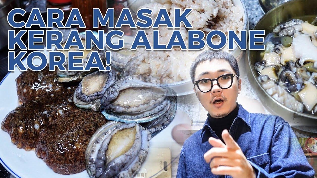 Download MAKAN KERANG ABALONE MENTAH & BUBUR ALABONE