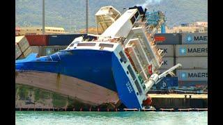 Top 10 Large Ships Collision! Ships Crashing at Sea