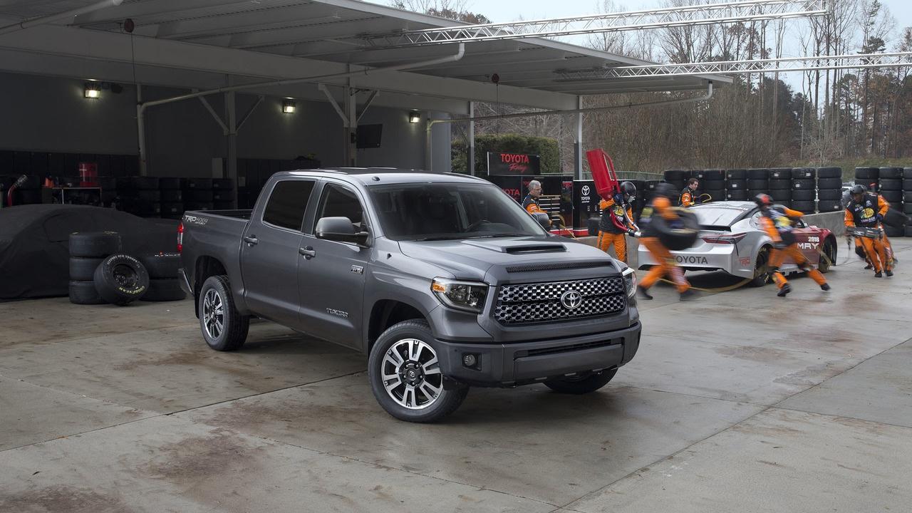 Toyota Large Suv >> 2018 Toyota Sequoia Large Suv Tundra Full Size Pickup Truck Trd