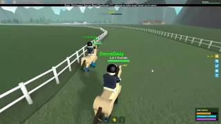 Denis Daily Roblox! Horse Valley Racing Horses in Roblox!