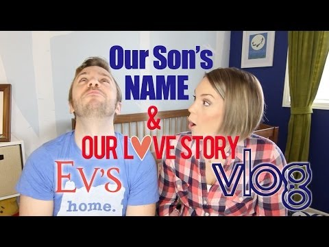 Our Son's NAME & Our Love Story! - Peter & Evynne Hollens