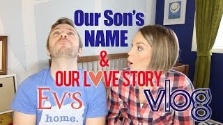 Repeat youtube video Our Son's NAME & our Love Story! - Peter & Evynne Hollens