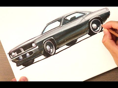 See What I Did Wrong Here? Cuda Marker Sketch
