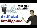 Minmax Algorithm in Artificial Intelligence in Hindi | Solved Example | #20