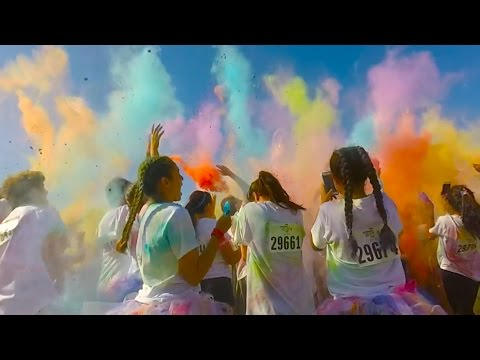 St. Theresa School Palm Springs Color Run 2016